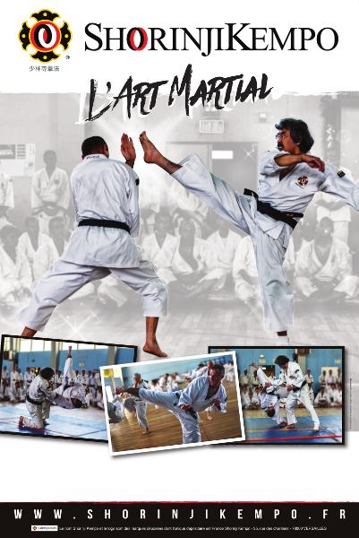 Affiche « L'art martial »
