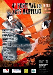 4ème festival des arts martiaux de Méru
