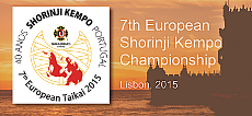 7th European Shorinji Kempo Championship - Lisbon, 2015