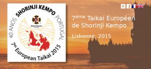 7ème Taïkaï Européen de Shorinji Kempo - Lisbonne 2015