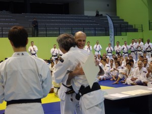 Taïkaï européen 2015, remise des diplômes 4e & 5e dan - © Yuko I.B.