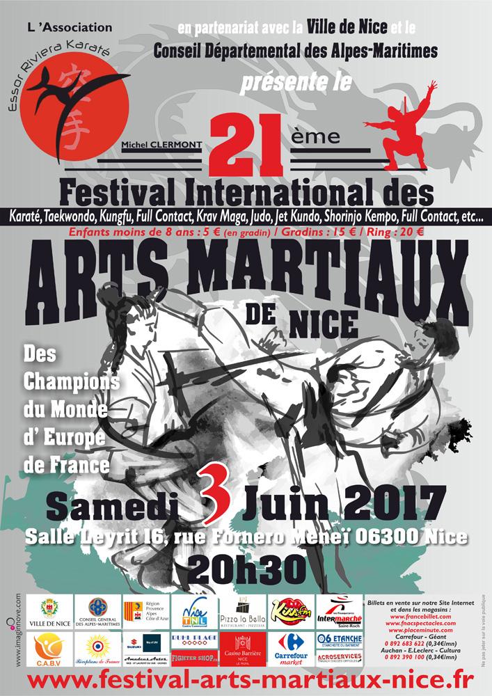 21e festival des arts martiaux de Nice