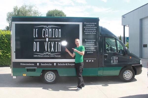 Le Camion du Vexin « 100% street cuisine 100% terroir »