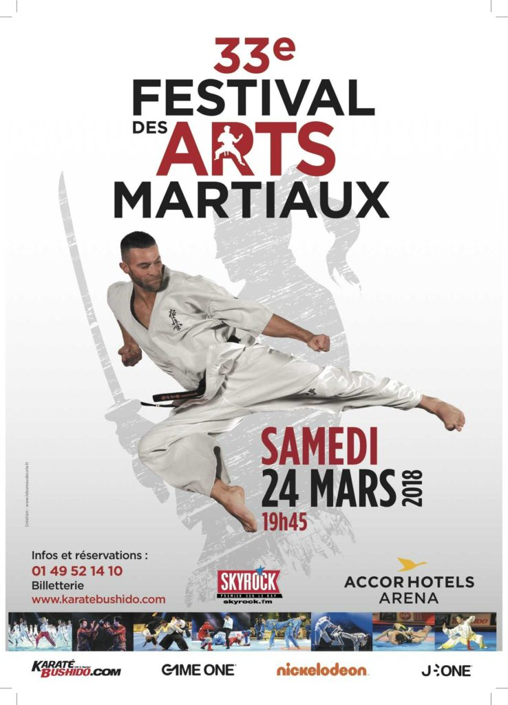 33e Festival des Arts Martiaux de Paris Accor Hotels Arena