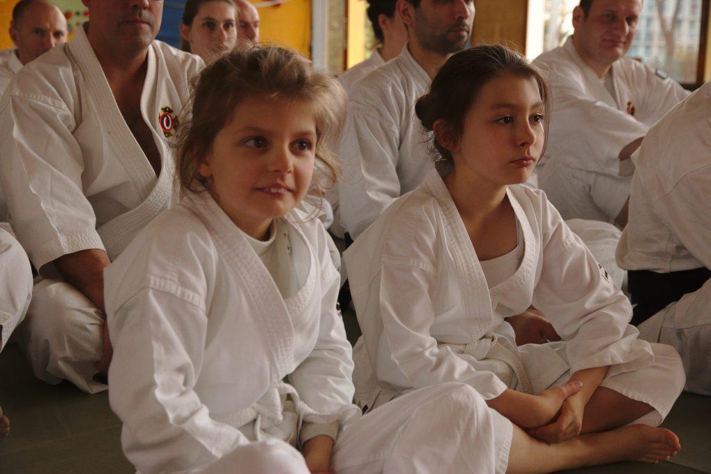 Nos deux plus jeunes participantes, respectivement 8 et 10 ans ;-)